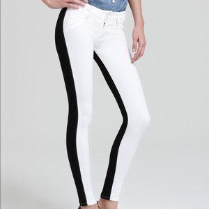 Hudson B&W size 27 skinny jeans